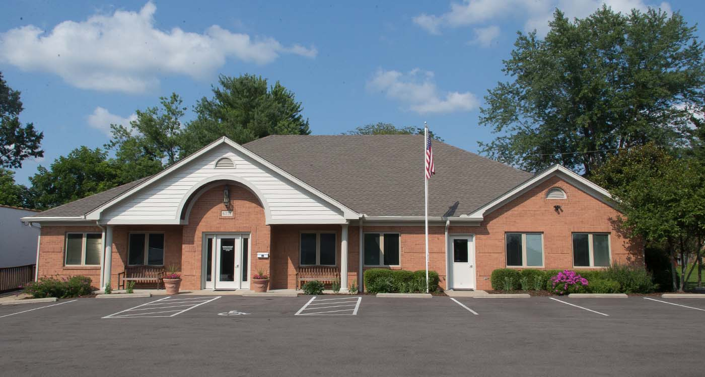 Gerome & Patrice Family Dentistry Loveland Ohio dental office buliding