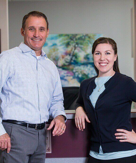Loveland dentists Dr. Mark Gerome and Dr. Gina Patrice