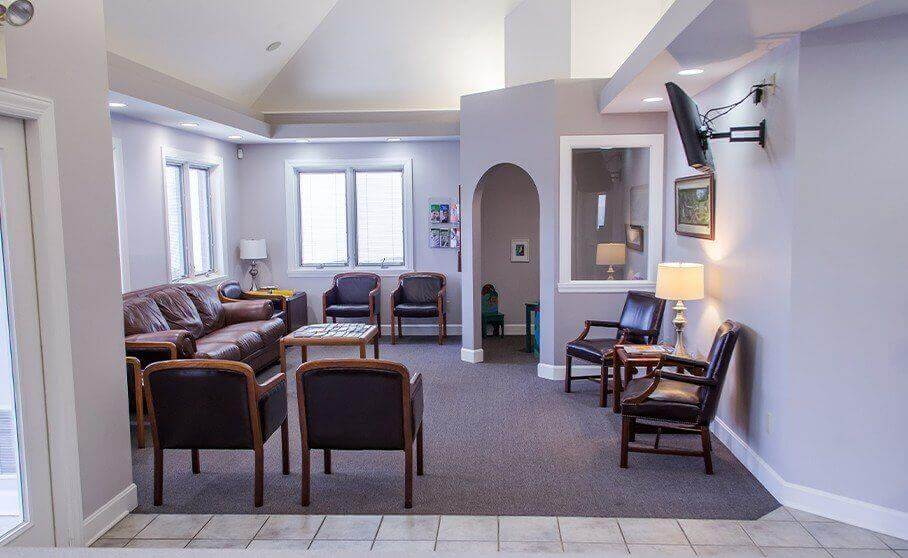 Loveland dental office waiting room